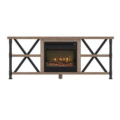 ClassicFlame Irondale TV Stand for TVs up to 65