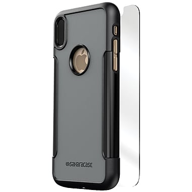 Classic Protective Kit for iPhone X, Mist (C-A-IX-BK/GY)