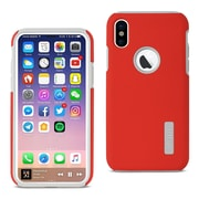 iPhone X Solid Armor Dual Layer Protective Case, Red (SLCRPC01-IPH8RD)