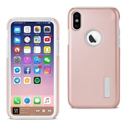 iPhone X Solid Armor Dual Layer Protective Case, Rose Gold (SLCRPC01-IPH8RG)