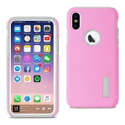 iPhone X Solid Armor Dual Layer Protective Case, Pink (SLCRPC01-IPH8PK)