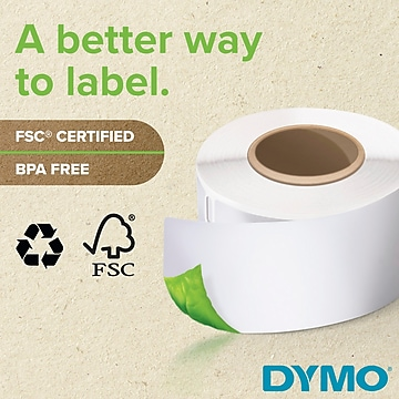 DYMO LW Extra-Large Shipping Labels for LabelWriter Label Printers, White, 4'' x 6'', 2 Rolls of 220