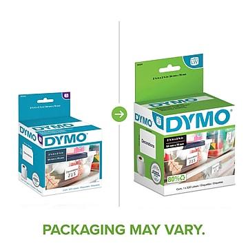 "Dymo LabelWriter Large Multi-Purpose 30324 Label Printer Labels, 2.13""W, Black On White, 320/Roll"