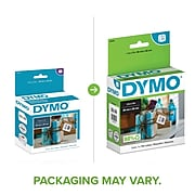 """DYMO LabelWriter Thermal Multipurpose Labels, 1""""W x 1""""L, White, 750/Roll, 1 Roll/Pack (30332)"""