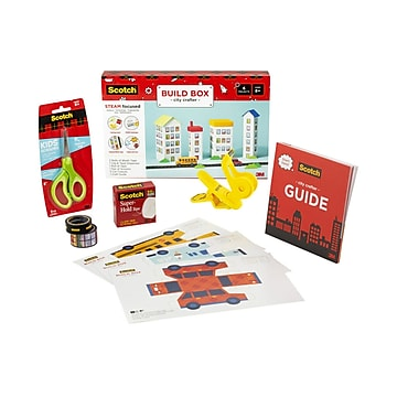 Scotch™ STEAM Pack City Builder Kit, Assorted (STEAM-CB)