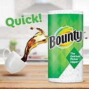 Bounty Select-A-Size Kitchen Rolls Paper Towel, 2-Ply, White, 147 Sheets/Roll, 6 Rolls/Carton (67001)