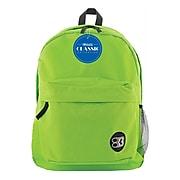 "Bazic Classic Backpack 17"" Lime Green (BAZ1054)"