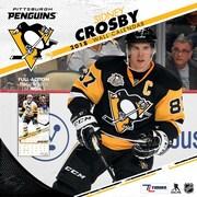 "Pittsburgh Penguins Sidney Crosby 2018 12"" x 12"" Player Wall Calendar (18998011791)"