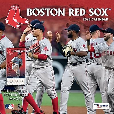 """""""""""Boston Red Sox 2018 12"""""""""""""""" x 12"""""""""""""""" Team Wall Calendar (18998011843)"""""""""""" 24207835"""