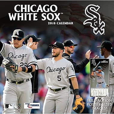 Chicago White Sox 2018 12X12 Team Wall Calendar (18998011845)