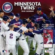 "Minnesota Twins 2018 12"" x 12"" Team Wall Calendar (18998011855)"