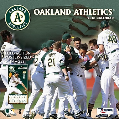 Oakland Athletics 2018 12X12 Team Wall Calendar (18998011858)