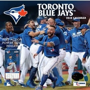 "Toronto Blue Jays 2018 12"" x 12"" Team Wall Calendar (18998011867)"