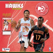 "Atlanta Hawks 2018 12"" x 12"" Team Wall Calendar (18998011869)"