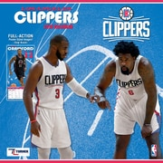 "Los Angeles Clippers 2018 12"" x 12"" Team Wall Calendar (18998011881)"