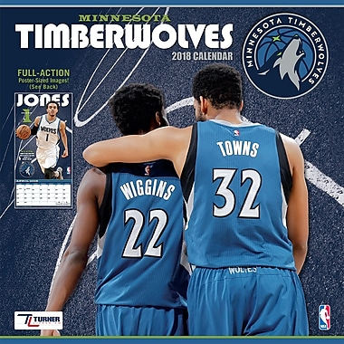 Minnesota Timberwolves 2018 12X12 Team Wall Calendar (18998011886)