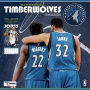 "Minnesota Timberwolves 2018 12"" x 12"" Team Wall Calendar (18998011886)"