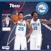 Philadelphia 76Ers 2018 12X12 Team Wall Calendar (18998011891)