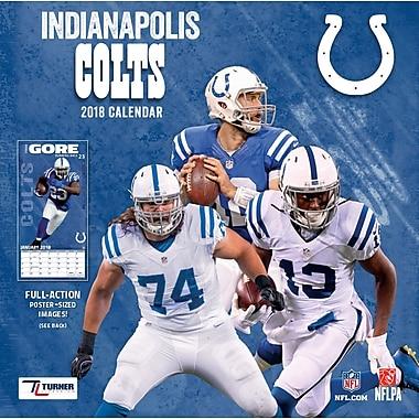 Indianapolis Colts 2018 12X12 Team Wall Calendar (18998011912)