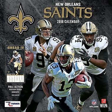 New Orleans Saints 2018 12X12 Team Wall Calendar (18998011918)