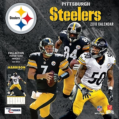 Pittsburgh Steelers 2018 12X12 Team Wall Calendar (18998011923)