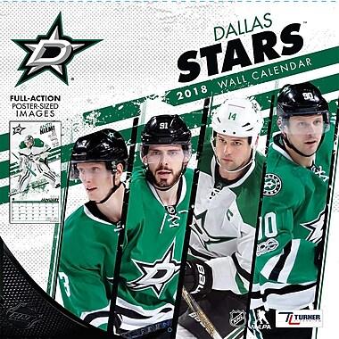 Dallas Stars 2018 12X12 Team Wall Calendar (18998011939)