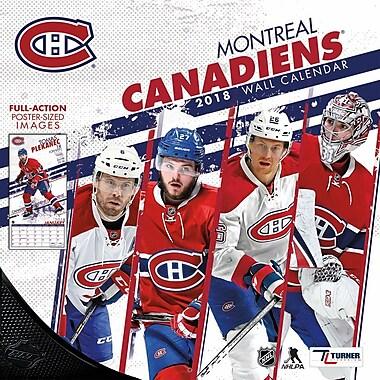 Montreal Canadiens 2018 12X12 Team Wall Calendar (18998011945)