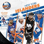New York Islanders 2018 12X12 Team Wall Calendar (18998011948)
