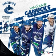 "Vancouver Canucks 2018 12"" x 12"" Team Wall Calendar (18998011958)"