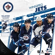 "Winnipeg Jets 2018 12"" x 12"" Team Wall Calendar (18998011960)"