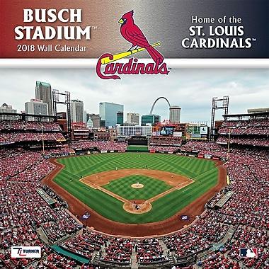 St Louis Cardinals Busch Stadium 2018 12X12 Wall Calendar (18998012080)