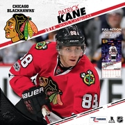 "Chicago Blackhawks Patrick Kane 2018 12"" x 12"" Player Wall Calendar (18998012091)"