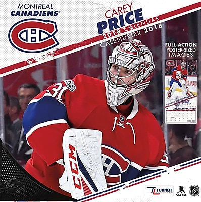 Montreal Canadiens Carey Price - Bilingual French/English 2018 12