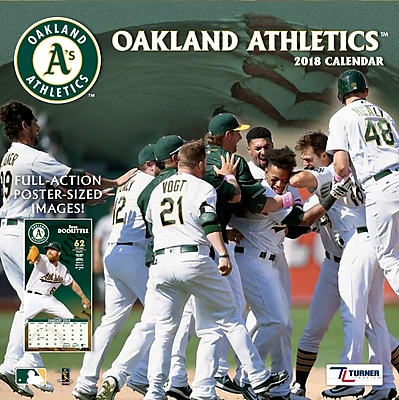 Oakland Athletics 2018 Mini Wall Calendar (18998040542)