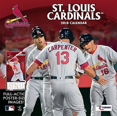 St Louis Cardinals 2018 Mini Wall Calendar (18998040545)
