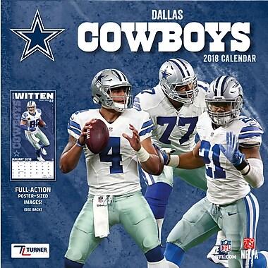 Dallas Cowboys 2018 Mini Wall Calendar (18998040560)