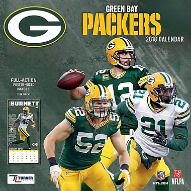 Green Bay Packers 2018 Mini Wall Calendar (18998040563)