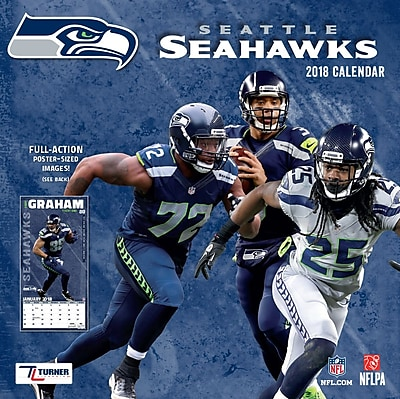 Seattle Seahawks 2018 Mini Wall Calendar (18998040578) 24206061