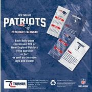 New England Patriots 2018 Box Calendar (18998051445)