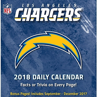 Los Angeles Chargers 2018 Box Calendar (18998051452)
