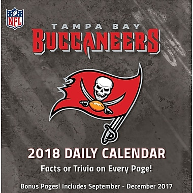 Tampa Bay Buccaneers 2018 Box Calendar (18998051455)