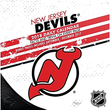 New Jersey Devils 2018 Box Calendar (18998051464)