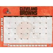 """Cleveland Browns 2018 22"""" x 17"""" Desk Calendar (18998061533)"""
