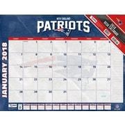 New England Patriots 2018 22X17 Desk Calendar (18998061543)