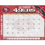 San Francisco 49Ers 2018 22X17 Desk Calendar (18998061551)