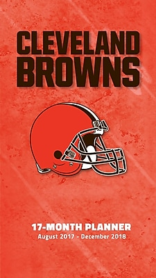 Cleveland Browns 2017-18 17-Month Planner (18998890539)