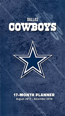 Dallas Cowboys 2017-18 17-Month Planner (18998890540)