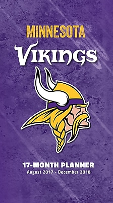 Minnesota Vikings 2017-18 17-Month Planner (18998890549)