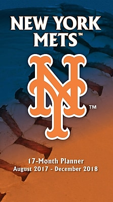New York Mets 2017-18 17-Month Planner (18998890581)