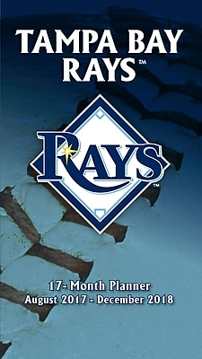 Tampa Bay Rays 2017-18 17-Month Planner (18998890590)